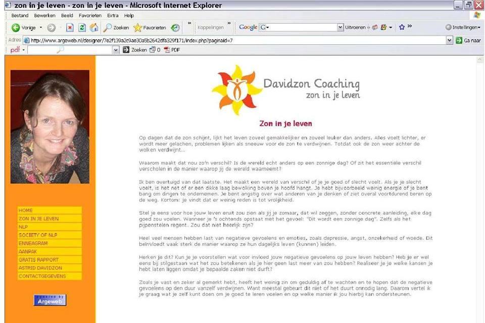 argeweb website