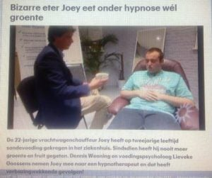 bizarre eters joey hypnose