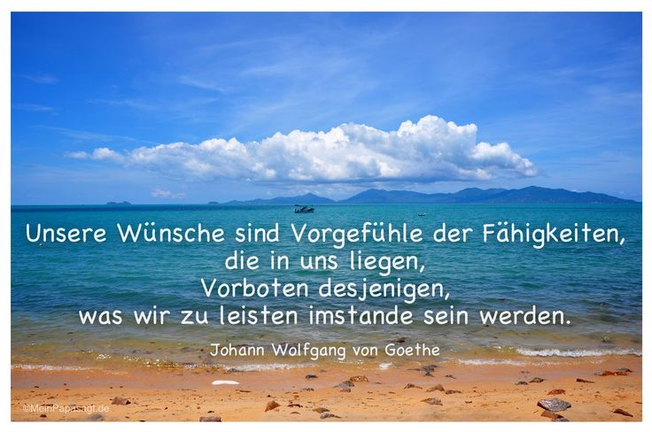 goethe quote wunsche