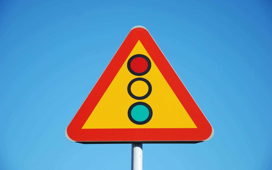 Staat jouw stoplicht ook steeds op rood?