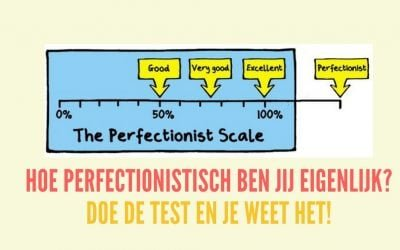 Ben jij een struisvogel? Doe de perfectionisme-test