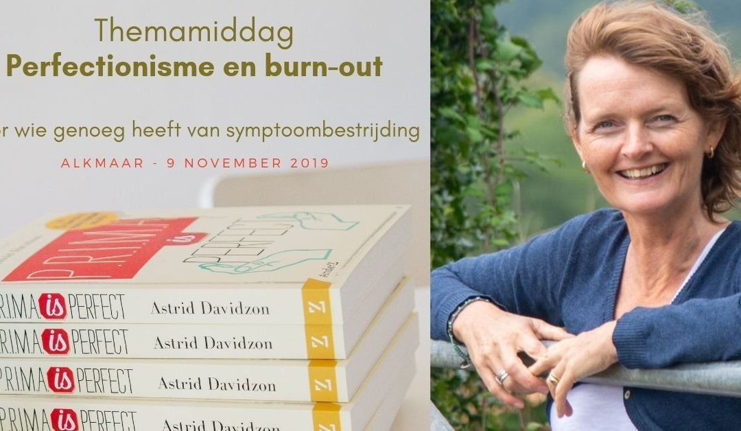 Themamiddag Perfectionisme en Burn-out
