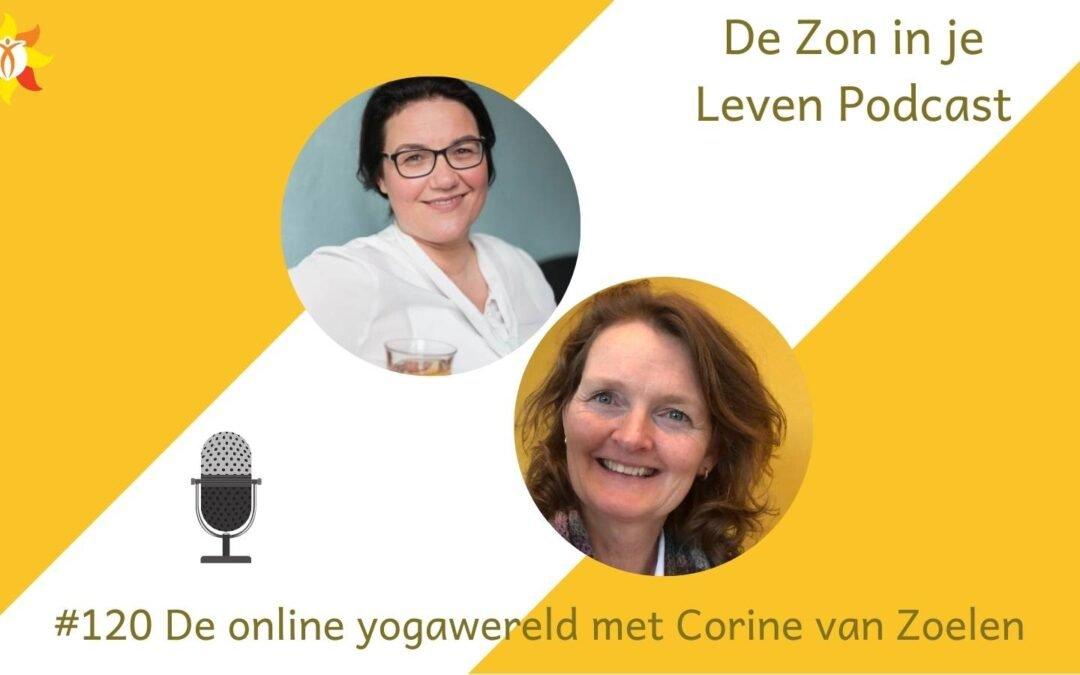 #120 De online yogawereld met Corine van Zoelen